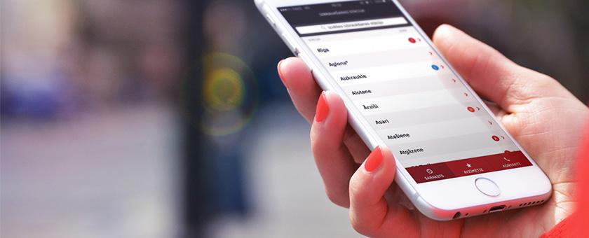 Izmanto mobilo  aplikāciju    Esi pirmais, kurš uzzina  izmaiņas savā maršrutā!    Ielādē no app store  Ielādē no google play